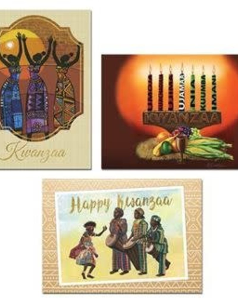 African American Expressions Kwanzaa Assortment - Box Card