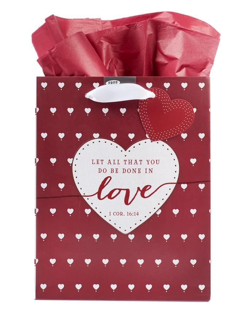 Love Medium Gift Bag – 1 Corinthians 16:14