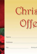 Offering Envelope - Christmas-Advent - Glory to God (Pack of 100)