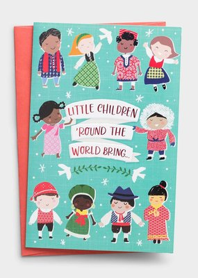 Operation Christmas Child - Little Children 'Round the World - 18 Premium Christmas Boxed Cards