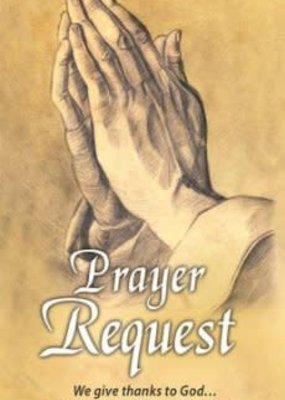 Prayer Request (Colossians 1:3) Pew Cards, 25