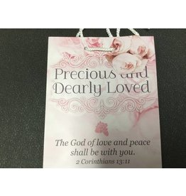 PRECIOUS AND DEARLY LOVED GIFT BAG WITH TAG