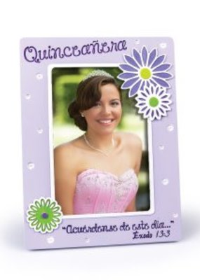 Lighthouse Chirstian Products Quinceanera, Marco de Foto, Lila