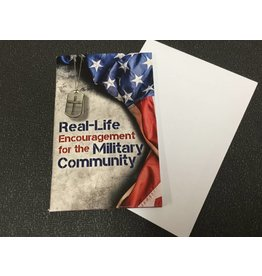 REAL LIFE FOR MILITARY COMMUNITY DEVO BOOK W/ FREE ENVELOPE