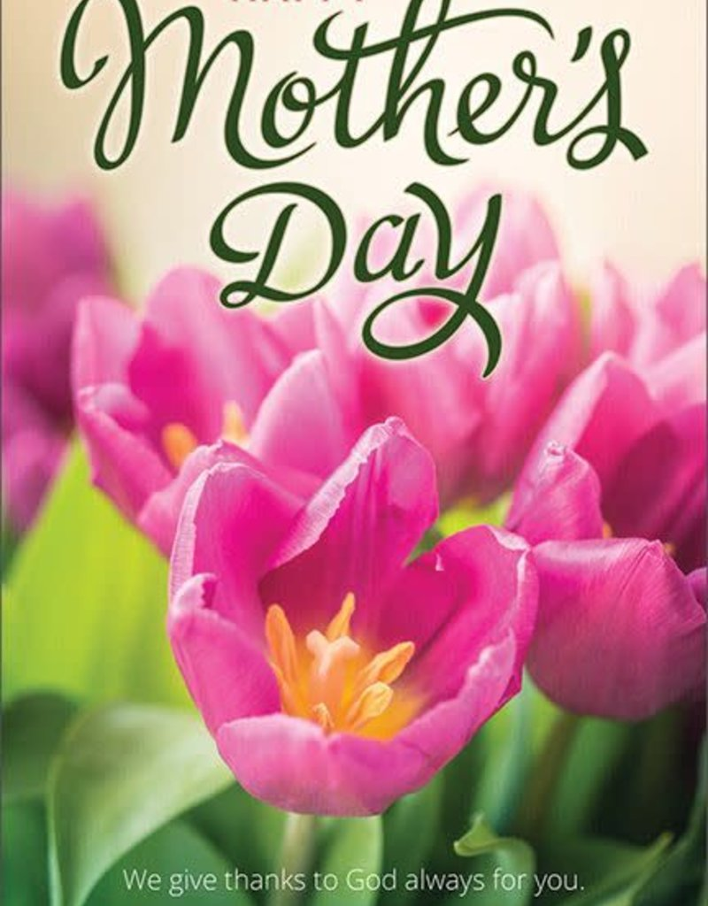 Mother's Day Bulletin - Happy Mother's Day