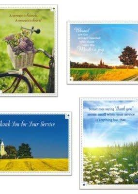 Service Appreciation - Box Card