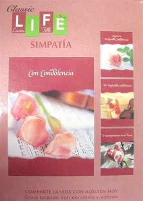 Classic Life Simpatia - Heart Felt Sorrow - Sympathy - Spanish
