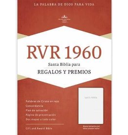 Span-RVR 1960 Gift And Award Bible-White Imitation Leather (Biblia Para Regalos Y Premios)