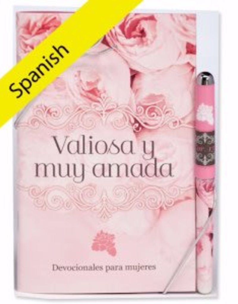 Spanish-Gift Set-Precious And Dearly Loved Devotion Book & Pen (2 Cor 13:11 RV)