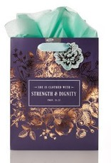 Strength and Dignity - Proverbs 31-25 Medium Gift Bag