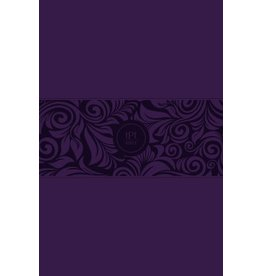 The Passion Translation New Testament With Psalms, Proverbs & Song Of Songs-Large Print-Violet Faux Leather