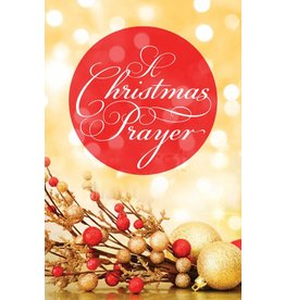 Good News Publishers Tract A Christmas Prayer