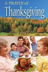 Tract-Prayer Of Thanksgiving (NIV) (Pack Of 25)