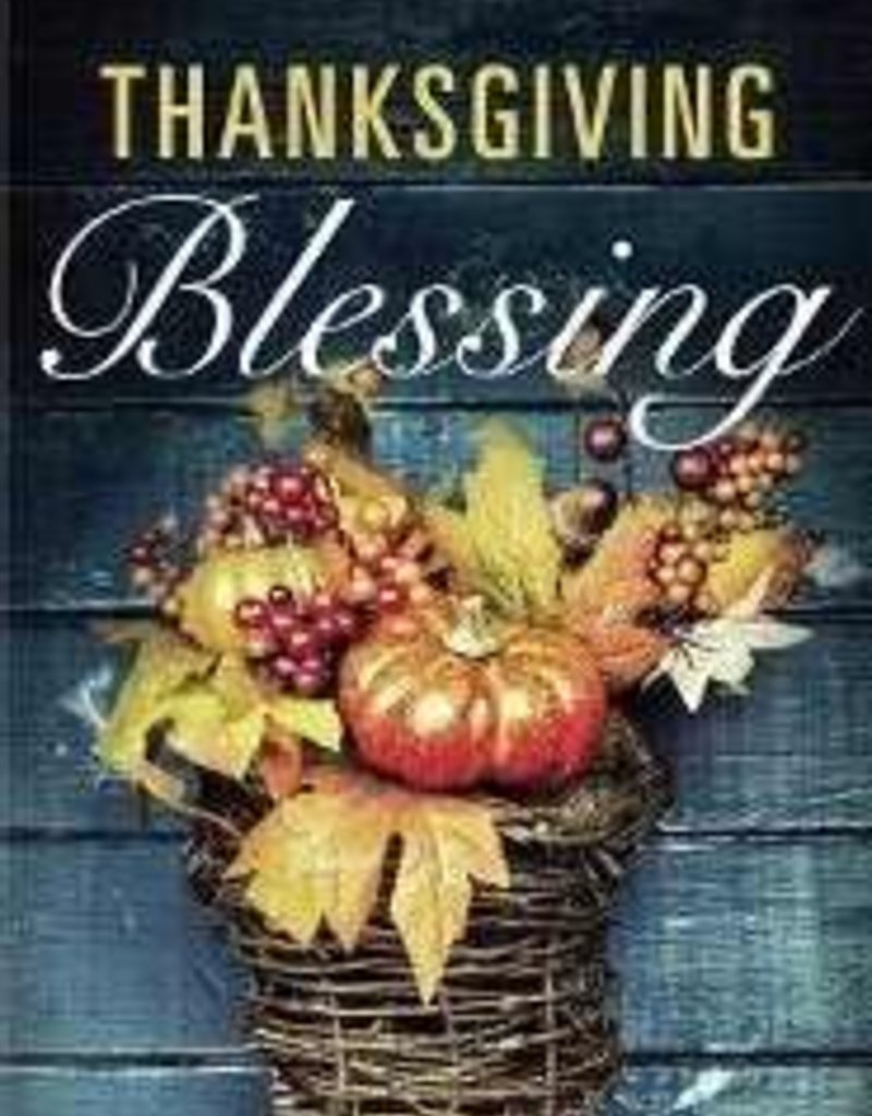 Tract-Thanksgiving Blessing (ESV) (Redesign) (Pack Of 25)
