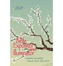 UGP Bible Expositor and Illuminator Spring 2019