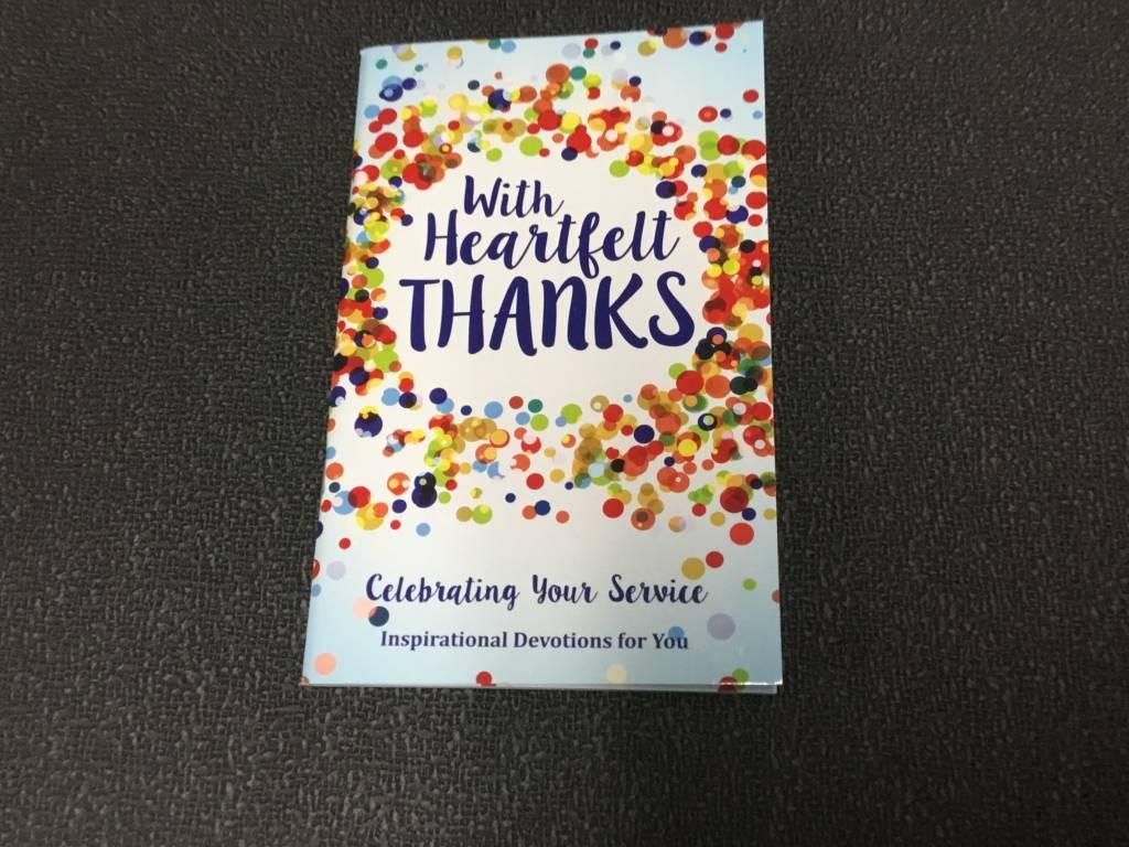 WITH HEARTFELT THANKS DEVOTION BOOK