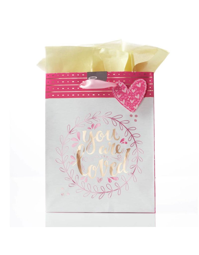 You Are Loved - 1 John 4:19 Medium Gift Bag