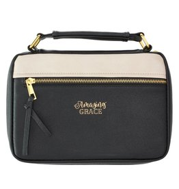 Amazing Grace Two-Tone LuxLeather Bible Cover-Large