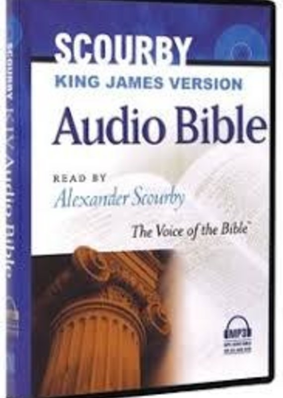 Hendrickson Audio CDKJV Complete Bible On MP3 DVD + 3 CD