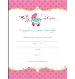 Baby Shower Invitation Baby Girl