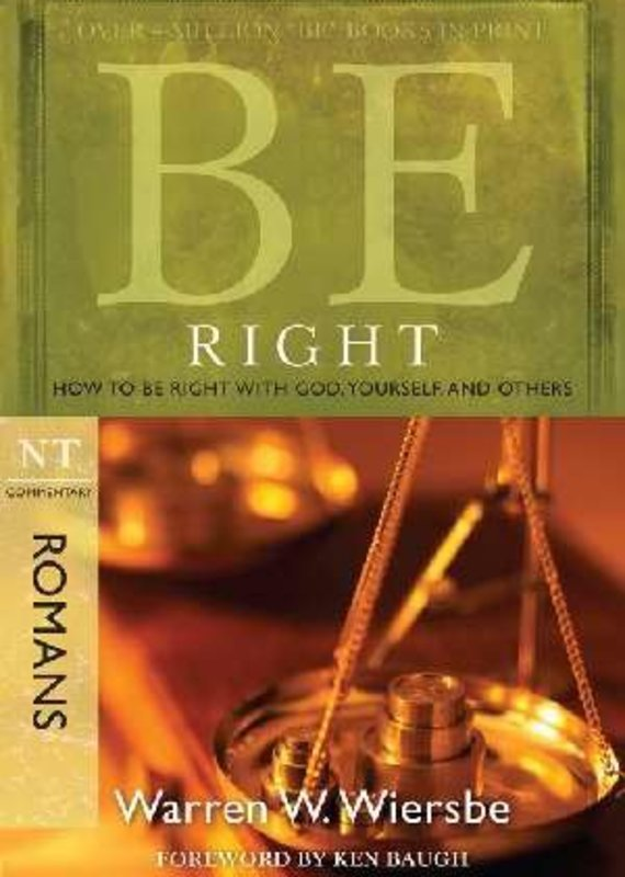 David  Cook Be Right (Romans)