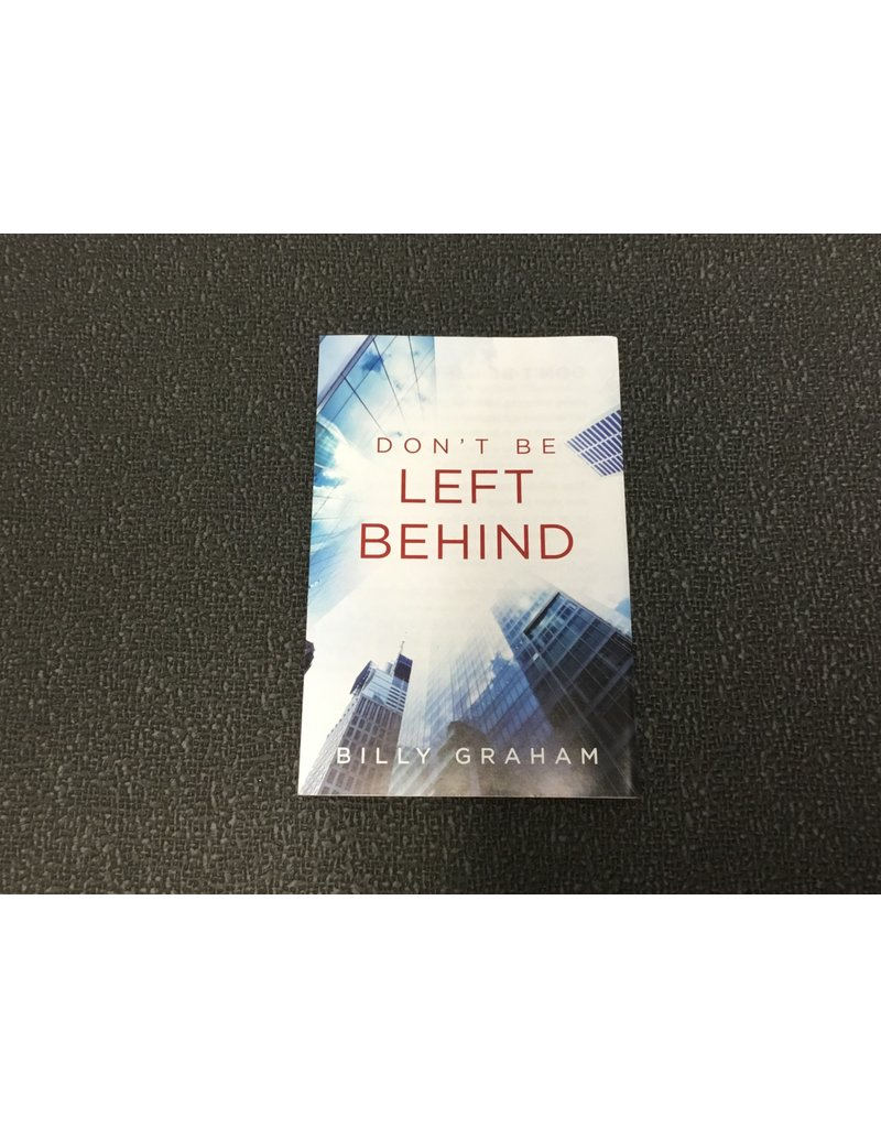 Copy of Tract-Don't Be Left Behind (KJV) Single