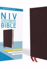 Zondervan NIV Thinline Bible/Giant Print (Comfort Print)-Burgundy Bonded Leather Indexed