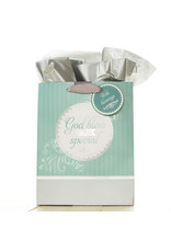 Gift Bag-May God Bless Your Special Day w/Tag & Tissue-Medium