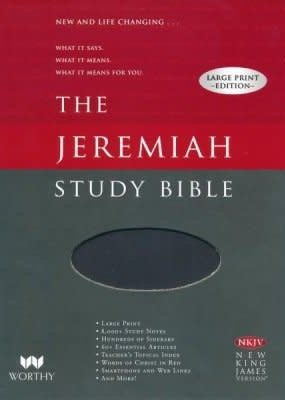 Worthy Publishing NKJV Jeremiah Study Bible