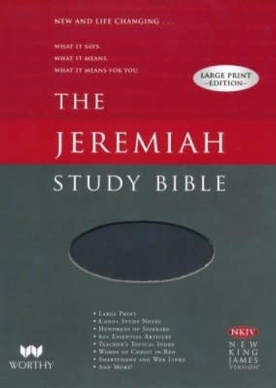 Worthy Publishing NKJV Jeremiah Study Bible