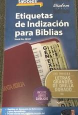 Span-Bible Tab-Large-O&N Test w/Catholic Bks-Gold