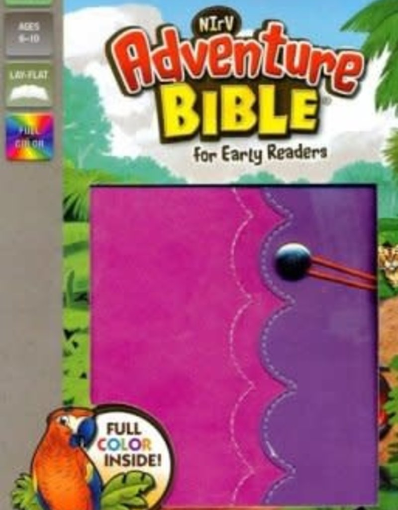 NIrV Adventure Bible For Early Readers (Full Color)-Amethyst/Pink DuoTone
