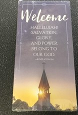 Guest Card-Welcome: Revelation 19:1 (Pack Of 50)