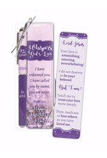 Christian Tools Pen & Mother's Day Bookmark Set-Whispers Of God's Love (Isaiah 43:1 ESV)