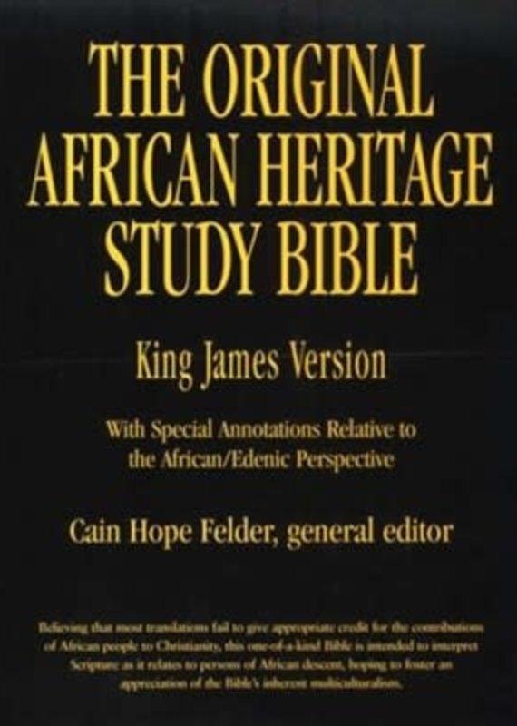 Judson Press KJV The Original African Heritage Study Bible