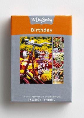 Birthday - Farmers Market - 12 Boxed Cards