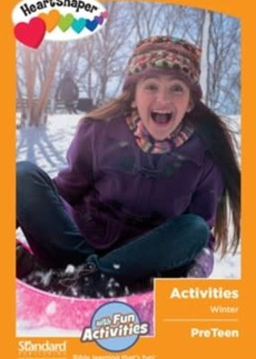 Standard Publishing HeartShaper: PreTeen Activities, Winter 2019-20