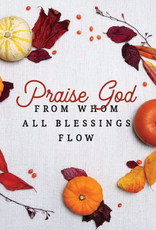 Bulletin-All Blessings (Pack Of 100)