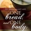 Bulletin-One Bread One Body (1 Corinthians 10:17, KJV) (Pack Of 100)