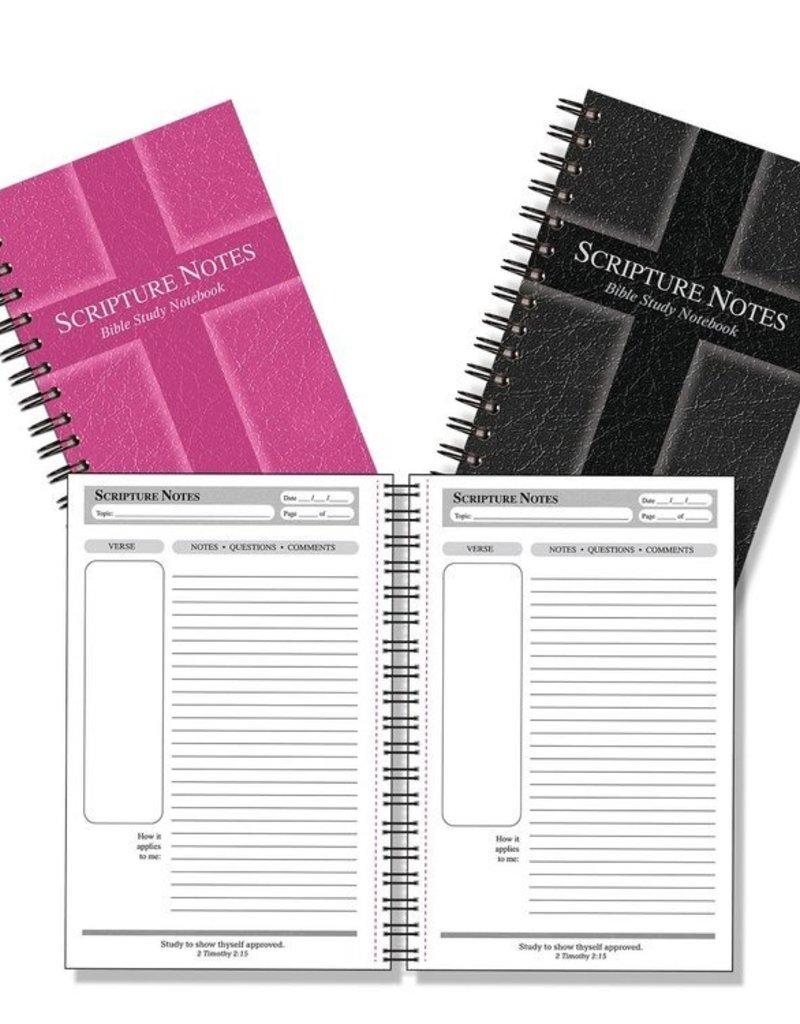 Bible Study Notebook Rose