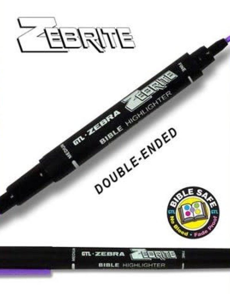 GTL Highlighter - Zebrite Double-Ended/Violet