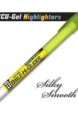 GTL Highlighter - ACCU-Gel Bible Hi-Glider-Yellow