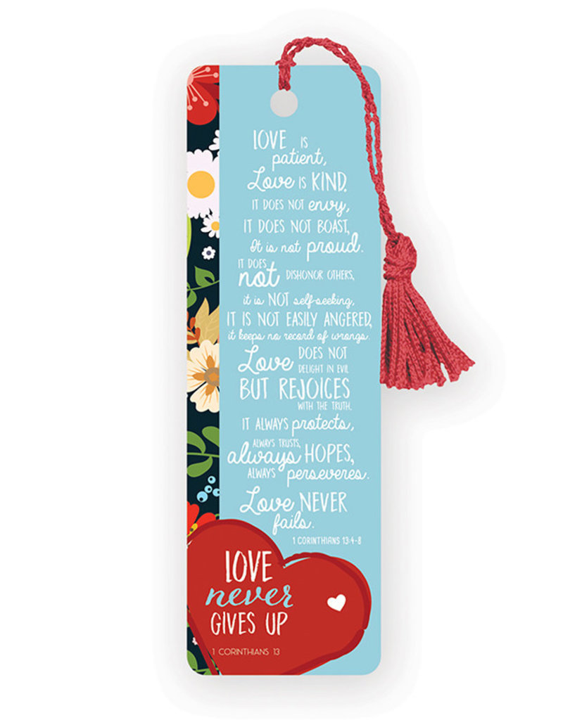 Bookmark Love Never Gives Up Universal