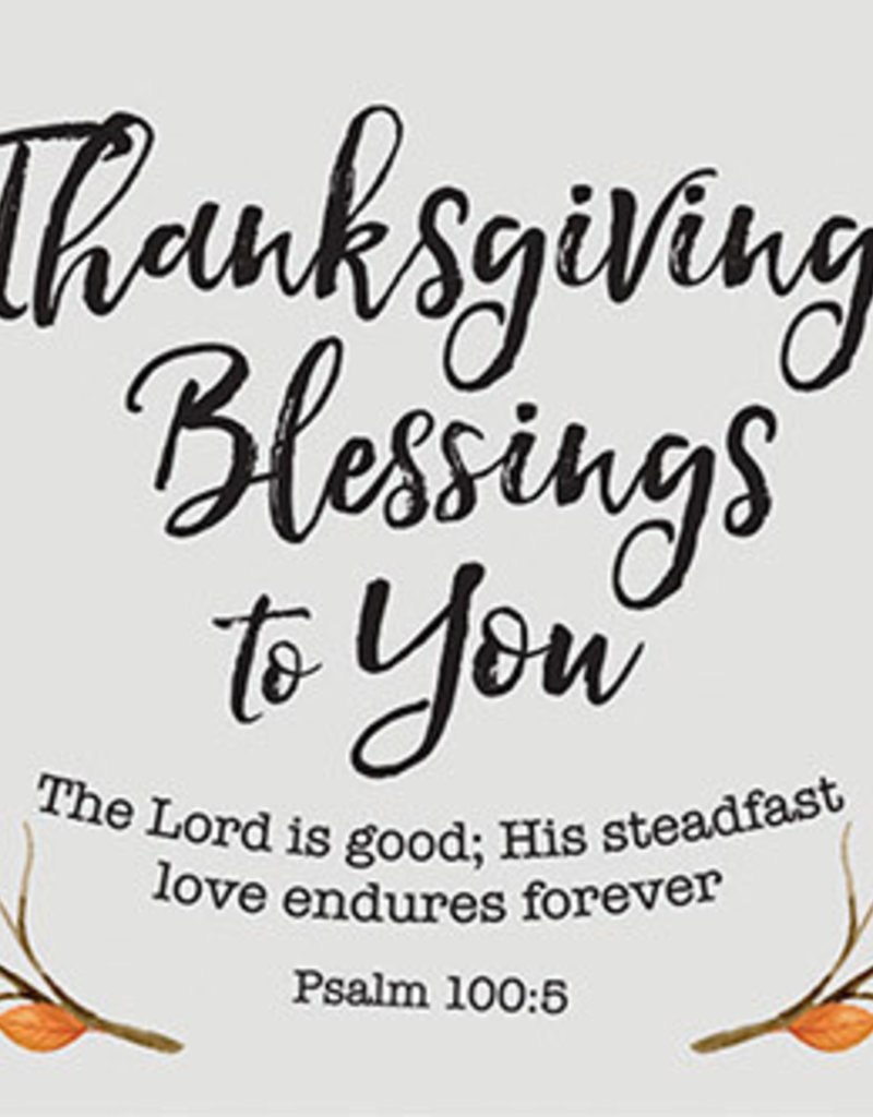 Pass it on Thanksgiving Blessings