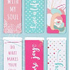 Bookmark-Page Marker-Magnetic-Well With My Soul (Set Of 6)