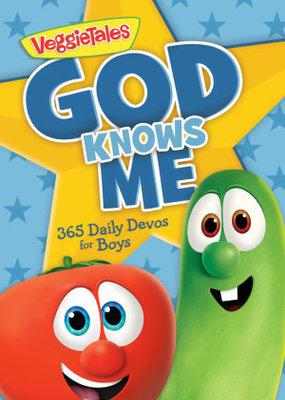 Worthy Kids God Knows Me: 365 Daily Devos For Boys (VeggieTales)
