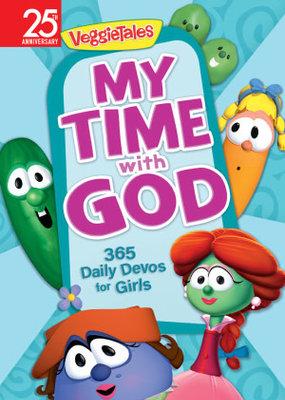 Worthy Kids My Time With God: 365 Daily Devos For Girls (VeggieTales)