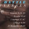 Bookmark-14 Spiritual Battle Verses (Pack Of 25)