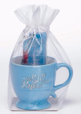 Gift Set-Be Still And Know-Mug w/Pen & Bookmark (Psalm 46:10 KJV)
