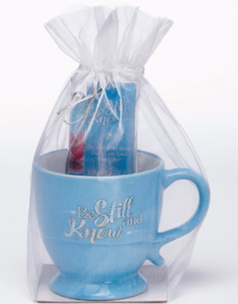 Gift Set-Be Still And Know-Mug w/Pen & Bookmark (Psalm 46:10 KJV)